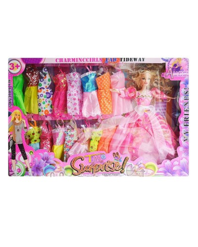 "Кукла типа ""Барби"" 225D с набором одежды, в кор. 51*34*6см"