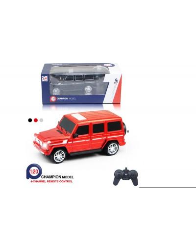 Машина батар.р/у 7M-231 М 1:20, 3 цвета, в коробке