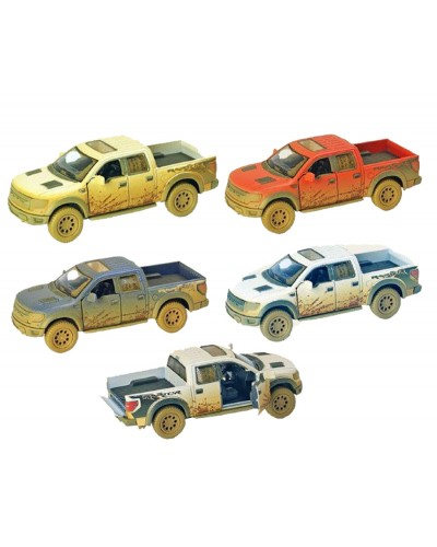 "Машина металл ""KINSMART"" KT5365WY ""Ford F-150 SVT Raptor"" в кор. 16*8,5*7см"