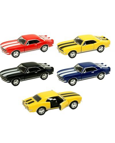 "Машина металл ""KINSMART"" KT5341W Chevrolet Camaro Z/28, в кор.16*8,5*7,5cm"
