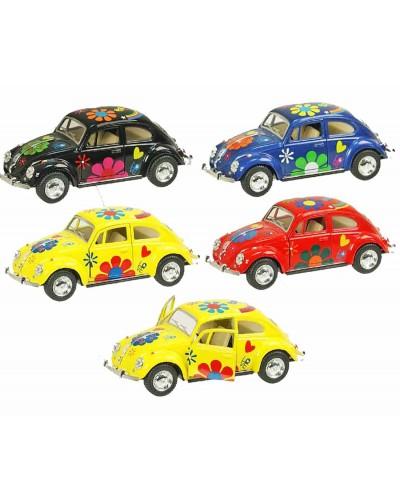 "Машина металл ""KINSMART"" KT5057WF ""Volkswagen Classical Beetle 1967"", в коробке 16*8*7см"