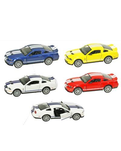 "Машина металл ""KINSMART"" KT5310W ""Shelby GT500"" в кор. 16*8,5*7,5см"