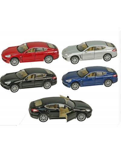 """Машина металл """"KINSMART"""" KT5347W """"Porsche Panamera"""", в коробке 16*8*7,5см"""