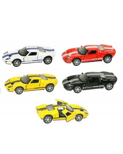 "Машина металл ""KINSMART"" KT5092W ""2006 Ford GT"" в кор. 16*8,5*7,5см"