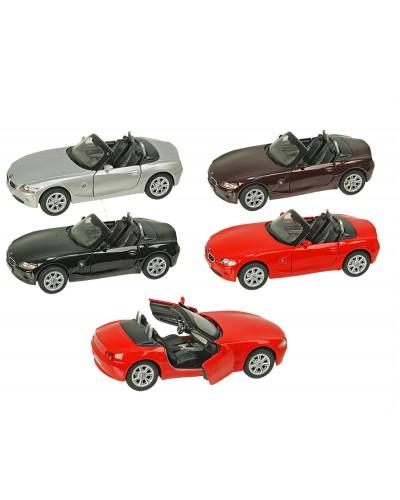"""Машина металл """"KINSMART"""" KT5069W """"BMW Z4"""", в коробке 16*8*7,5см"""