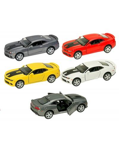 "Машина металл ""KINSMART"" KT5383WF ""Chevrolet Camaro"", в коробке 16*8*7,5см"