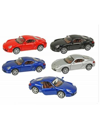 """Машина металл """"KINSMART"""" KT5307W """"Porsche Cayman S"""", в коробке 16*8*7,5см"""