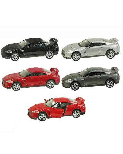 "Машина металл ""KINSMART"" KT5340W ""2009 Nissan GT-R R3"" в кор. 16*8,5*7,5см"