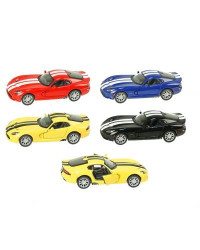 """Машина металл """"KINSMART"""" KT5363WF SRT Viper GTS, в кор.16*8,5*7,5cm"""