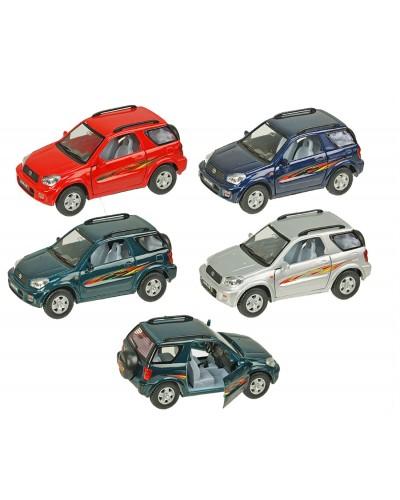 "Машина металл ""KINSMART"" KT5041W ""Toyota RAV4"", в коробке 16*8*7,5см"