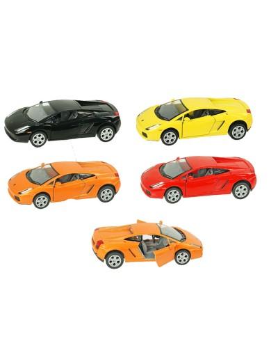 "Машина металл ""KINSMART"" KT5098W ""Lamborghini Gallardo"" в кор. 16*8,5*7,5см"