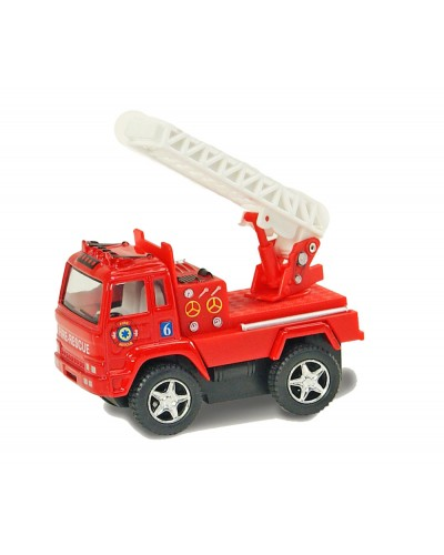 "Машина металл ""KINSMART"" KS3507W ""FIRE ENGINE"",  в коробке 11,5*5*11см"