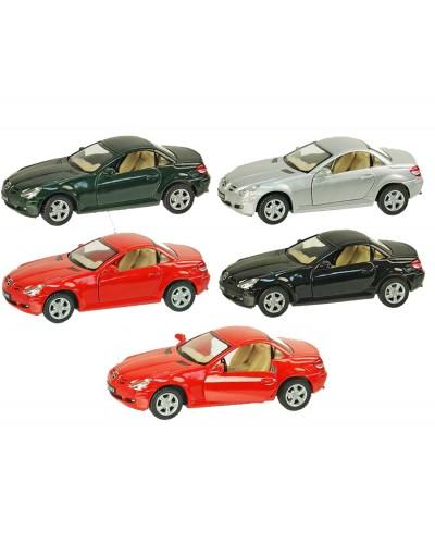 "Машина металл ""KINSMART"" KT5095W ""Benz SLK Class"", в коробке 16*8*7см"