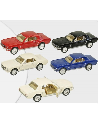 "Машина металл ""KINSMART"" KT5351W ""Ford Mustang 1964"", в коробке 16*8*7,5см"