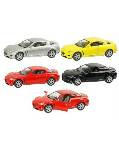 """Машина металл """"KINSMART"""" KT5071W """"Mazda RX8"""", в коробке 16*8*7см"""