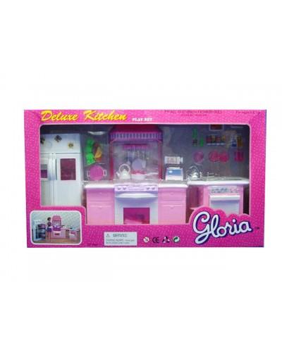 "Кухня ""Gloria"" 9986GB холодильник, газ.плита, мойка,… в кор. 56*32*10см"