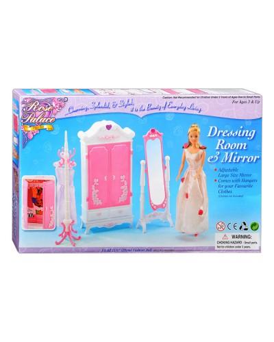 """Мебель """"Gloria"""" 2609 для гардеробной, шкаф, зеркало. вешалка д/одежды, в кор."""