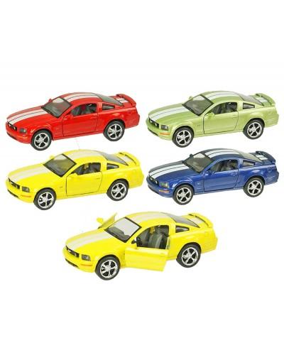 """Машина металл """"KINSMART"""" KT5091W 2006 Ford Mustang GT в коробке 16*8*7см"""