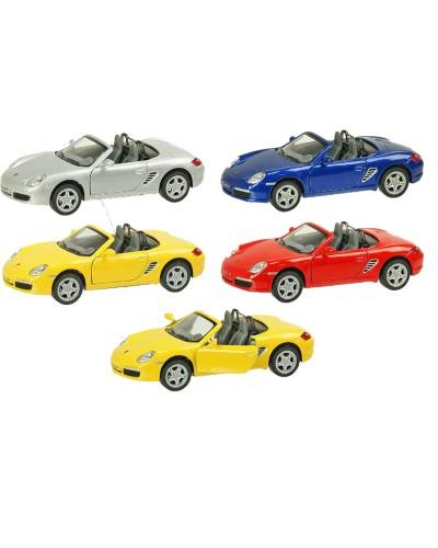 """Машина металл """"KINSMART"""" KT5302W """"Porsche Boxster S"""", в коробке 16*8*7см"""
