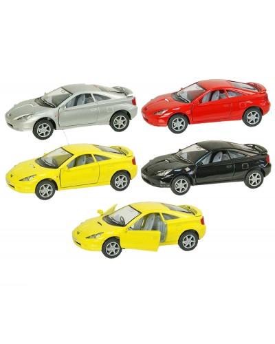 "Машина металл ""KINSMART"" KT5038W ""Toyota Celica"", в коробке 16*8*7см"