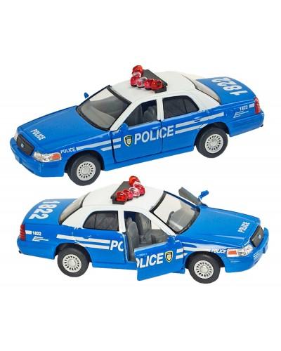 """Машина металл """"KINSMART"""" KT5342AW """"FORD CROWN VICTORIA POLICE"""", в коробке 16*8*7,5см"""