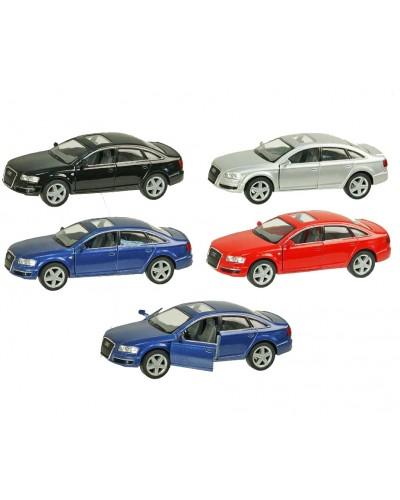 "Машина металл ""KINSMART"" KT5303W ""Audi A6"", в коробке 16*8*7см"