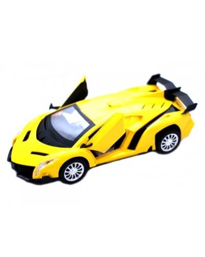 Машина 055-35, 2 цвета, под слюдой 29*15*9см