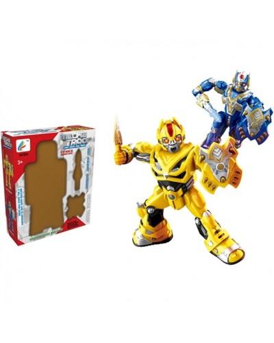Робот 6618A, 2 цвета, размер робота 11,5*6*23,5см, в коробке 23*8*28см