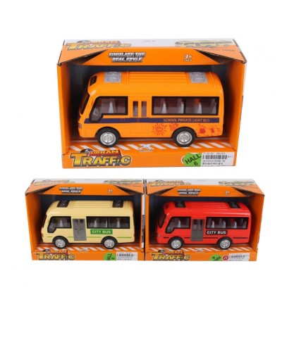 Автобус батар. ST66-29/30, звук, 2 цвета, в коробке 21,5*10*12,5см