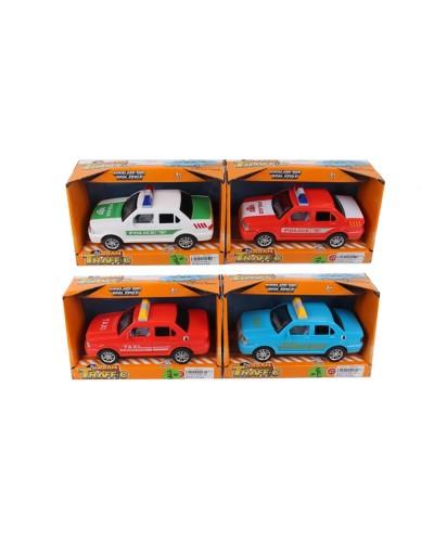 Машина батар. ST66-27/28, звук, 2 цвета, в коробке 21*10*11,5см