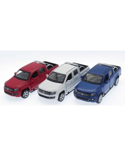 "Машина металл 67336 ""АВТОПРОМ"", Volkswagen Amarok, откр.двери, в кор. 14,2*7,2*6,5см"