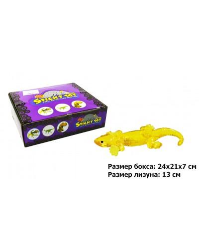 Животные-лизуны B24364, 4 цвета, разм 15*5см пакет, в боксе по 36шт /цена за шт/