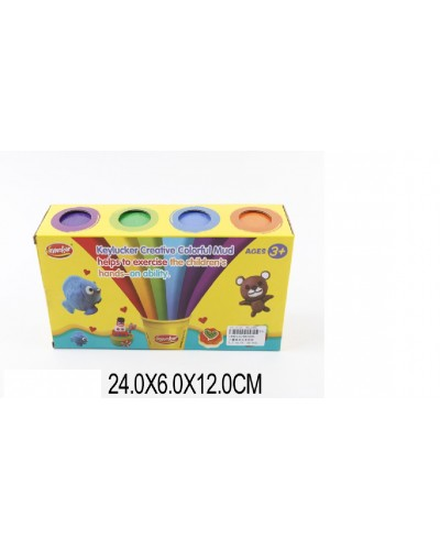 Пластилин KA7026, 8 цветов пластилина,  в коробке 24*6*12см