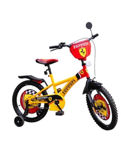 "Велосипед 2-х колес 12"" 181227 со звонком, зеркалом, без ручного тормоза"