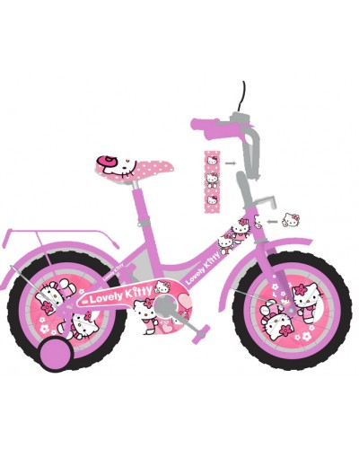 Велосипед 2-х колес 18' 181805 со звонком, зеркалом, руч.тормоз