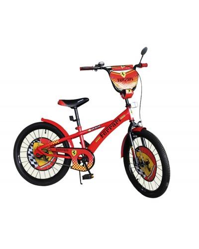 Велосипед 2-х колес 20' 172005 со звонком, зеркалом, без доп.колес