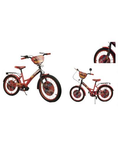 Велосипед 2-х колес 20' 182016 со звонком, зеркалом, руч.тормоз, без доп.колес