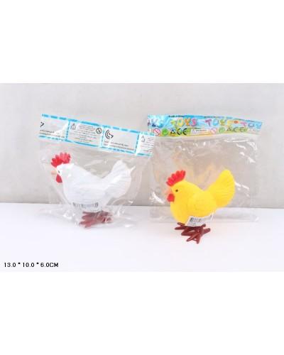 Заводные петушки 2011-56 2 цвета микс, в пакете 13*10*6 см