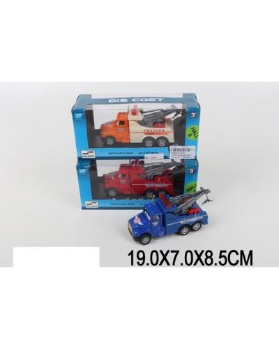 Машина металл 5010  3 цвета, в коробке 19*7*8,5