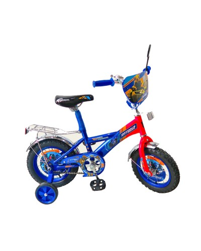 "Велосипед 2-х колес 12"" 171225 со звонком, зеркалом, без ручного тормоза"