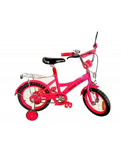 Велосипед 2-х колес 14' 171430 со звонком, зеркалом, руч.тормоз
