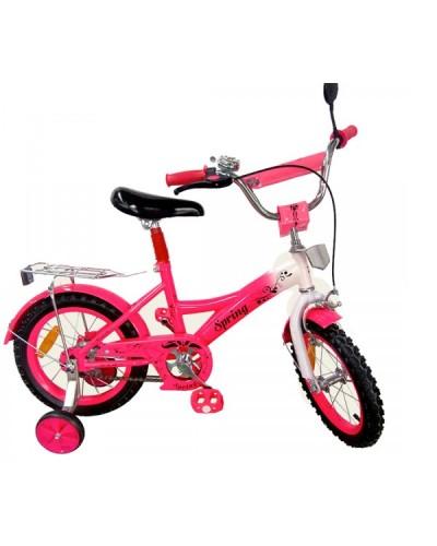 Велосипед 2-х колес 14' 171431 со звонком, зеркалом, руч.тормоз