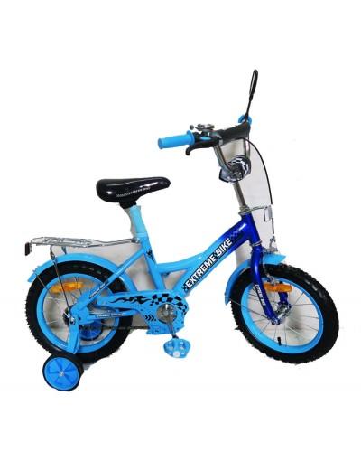 Велосипед 2-х колес 14' 171433 со звонком, зеркалом, руч.тормоз