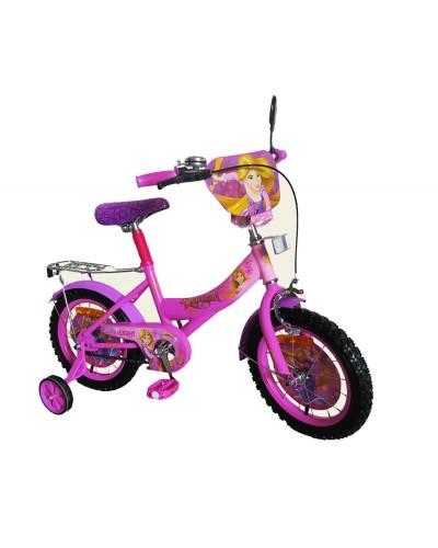 Велосипед 2-х колес 14' 171441 со звонком, зеркалом, руч.тормоз
