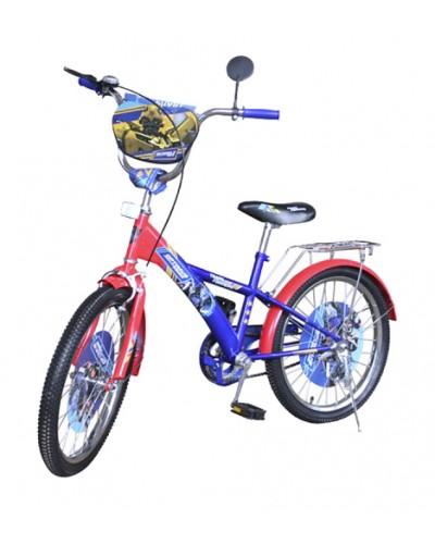 Велосипед 2-х колес 14'' 171411 со звонком, зеркалом, руч.тормоз