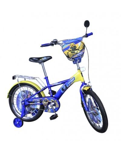 Велосипед 2-х колес 14'' 171412 со звонком, зеркалом, руч.тормоз