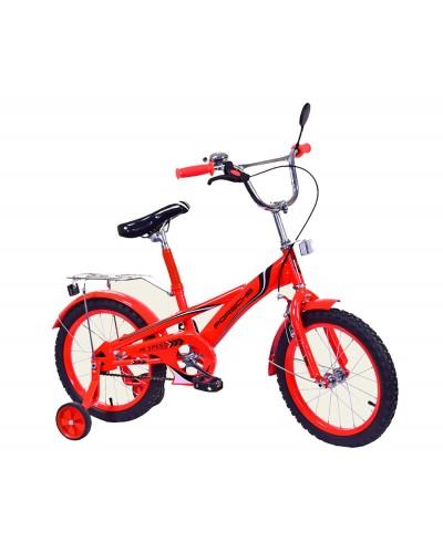 Велосипед 2-х колес 16'' 171631 со звонком, зеркалом, руч.тормоз