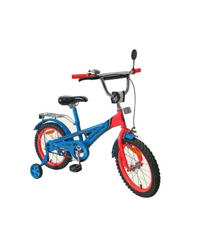 Велосипед 2-х колес 16'' 171633 со звонком, зеркалом, руч.тормоз