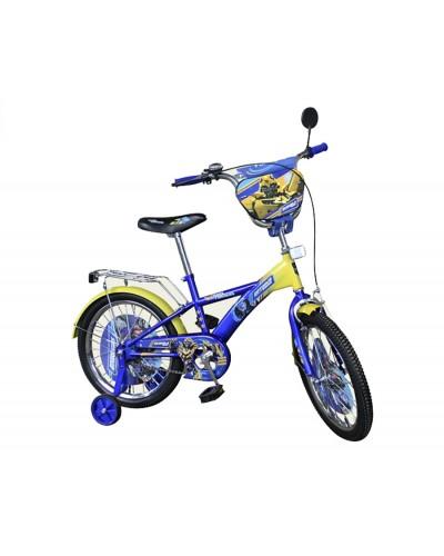 Велосипед 2-х колес 16' 171610 со звонком, зеркалом, руч.тормоз