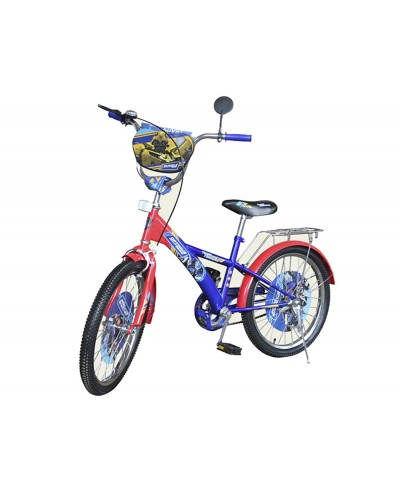 Велосипед 2-х колес 16' 171609 со звонком, зеркалом, руч.тормоз